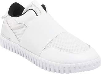 National Comfort Mesh Gored Leather Slip-on Sneakers - Laural