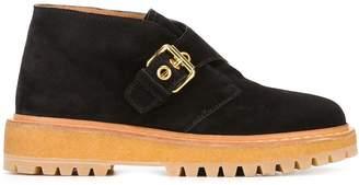 Car Shoe buckle detail shoes