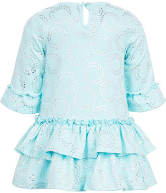 First Impressions Baby Girls Printed Tiered Ruffle Dress