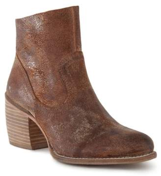 SEY Collection State of the Art Stacked Block Heel Bootie
