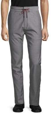 HUGO BOSS Textured Wool Pants