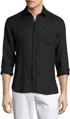 Vilebrequin Caroubis Linen Pocket Sport Shirt