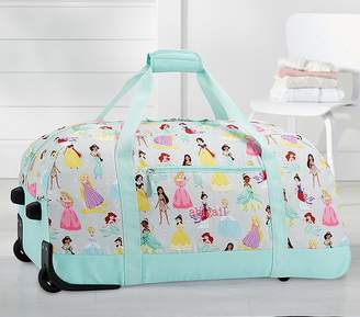 Pottery Barn Kids Mackenzie Aqua Disney Princess Luggage