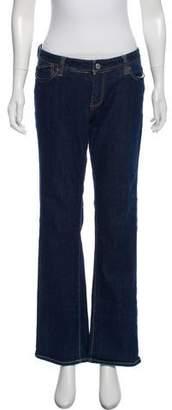 Ben Sherman Mid-Rise Wide-Leg Jeans