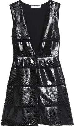 Magda Butrym Python Mini Dress