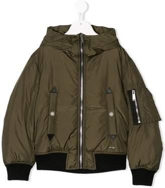 DSQUARED2 padded coat