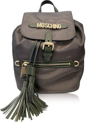 Moschino Black Top handle Backpack