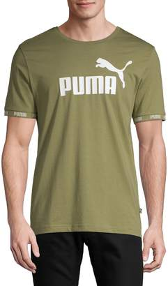 Puma Amplified Big Logo Cotton Tee