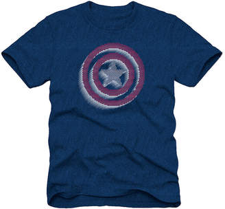 Novelty T-Shirts Captain America Graphic T-Shirt Boys