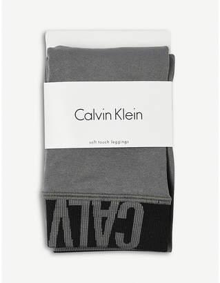 Calvin Klein Modern logo leggings