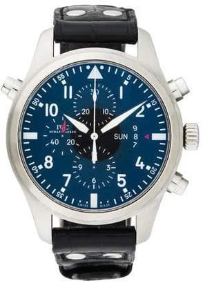IWC Pilot Double Chronograph Watch