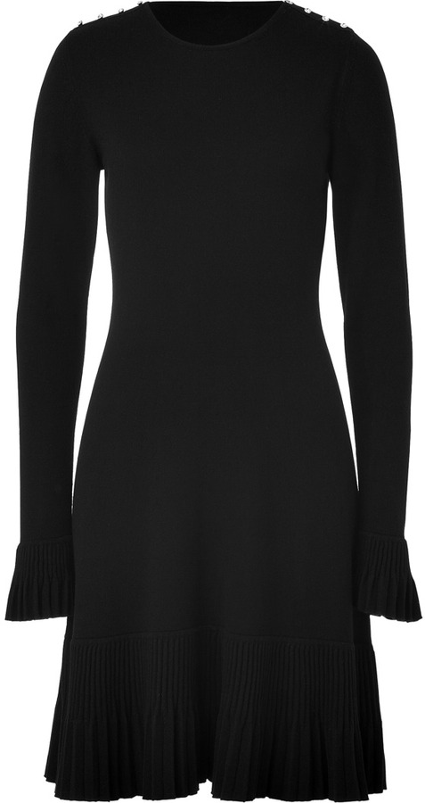 Azzaro Black Knit Dress