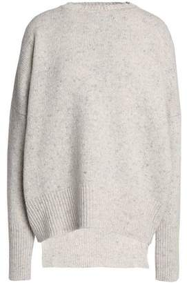 ADAM by Adam Lippes Ribbed-Knit Merino Wool And Cashmere-Blend Top