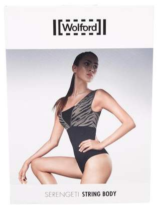 Wolford Printed Sleeveless Bodysuit w/ Tags