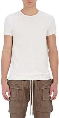 Rick Owens DRKSHDW RICK OWENS DRKSHDW MEN'S ELONGATED T-SHIRT $385 thestylecure.com