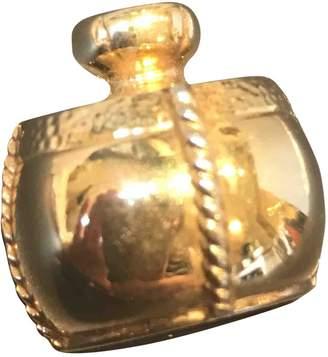 Saint Laurent Vintage Gold Metal Pins & brooches