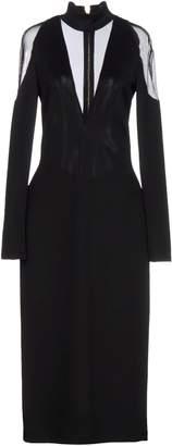 Balmain 3/4 length dresses