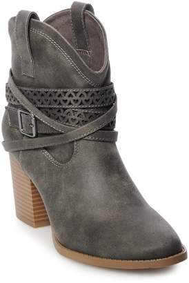 So SO Elm Women's High Heel Ankle Boots