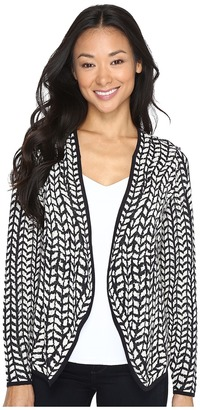 NIC+ZOE Reversible Nightwatch Cardy $168 thestylecure.com