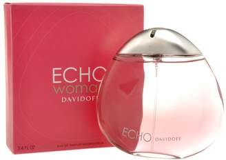Davidoff Echo By For Women. Eau De Parfum Spray 3.4 Ounces