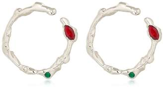 Marni Organic Shaped Hoop Earrings