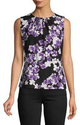 Calvin Klein Printed Sleeveless Top