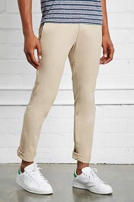 Forever 21 Cotton Khaki Pants