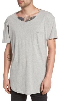 Men's The Rail Longline Scoop Neck T-Shirt $29.50 thestylecure.com