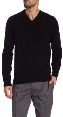 Vince V-Neck Wool & Cashmere Sweater