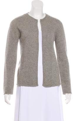 Calvin Klein Collection Long Sleeve Cashmere Cardigan
