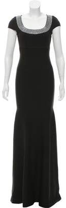 St. John Embellished Evening Dress w/ Tags