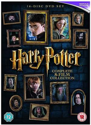 Harry Potter Complete Boxset - 2016 Edition DVD