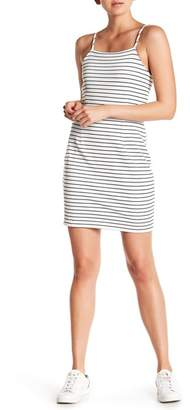 1 STATE 1.State Stripe Spaghetti Strap Dress