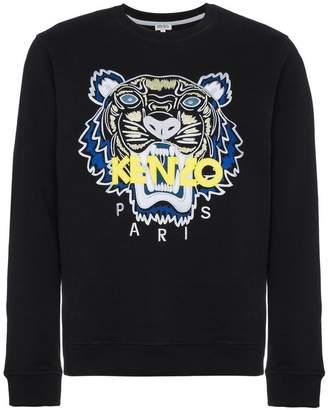 Kenzo tiger-appliqué sweatshirt