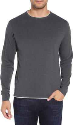 Robert Barakett Halifax Long Sleeve Crewneck T-Shirt