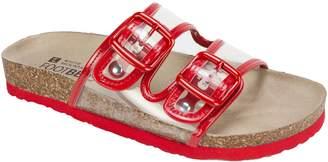 White Mountain Slide On Sandals - Hilda