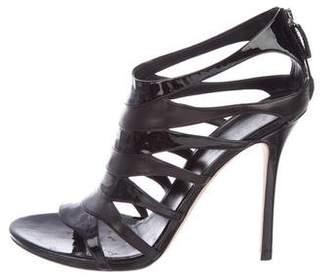 Gucci Leather Sandal Pumps