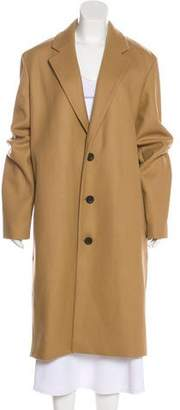 Vince Wool-Blend Knee-Length Coat
