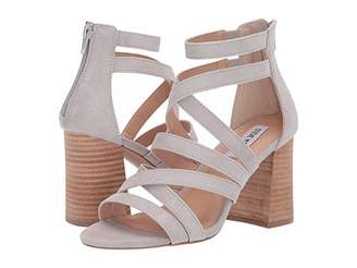33caed6005 Steve Madden Gray Heeled Women's Sandals - ShopStyle