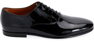 Lanvin Men's Patent Leather Oxford Shoes