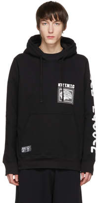 Kokon To Zai Black Membership Brain Hoodie