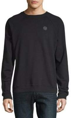 Versace Felpa Raglan Crewneck Sweater