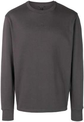 Belstaff logo embroidered sweatshirt
