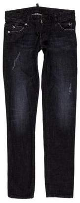 DSQUARED2 Low-Rise Skinny Jeans