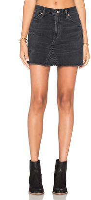 Citizens of Humanity Cut Off Mini Skirt $218 thestylecure.com