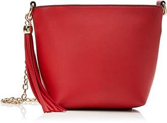Miss Selfridge Womens Bucket Cross-Body Bag