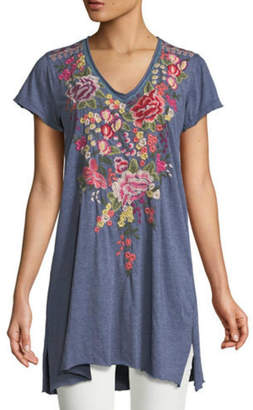 Johnny Was Adeline Embroidered Tunic