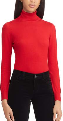 Chaps Women's Ribbed Turtleneck Sweater