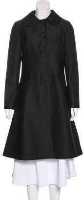 Co Long Button-Up Coat