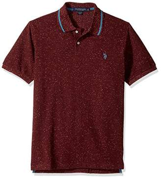 U.S. Polo Assn. Men's Classic Fit Solid Short Sleeve Pique Polo Shirt